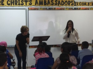 Teaching children how to receive the Baptism of the Holy Spirit,